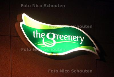 De Greenery Logo - MAASLAND 14 FEBRUARI  2011 - FOTO NICO SCHOUTEN