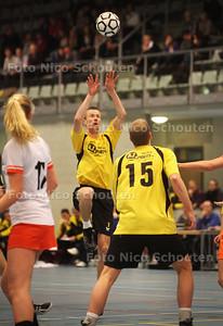 Korfbal: Die Haghe-Tweemaal Zes - DEN HAAG 12 FEBRUARI 2011 - FOTO NICO SCHOUTEN