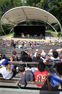 Openlucht theater Zuiderpark - DEN HAAG 5 JULI 2011 - FOTO NICO SCHOUTEN