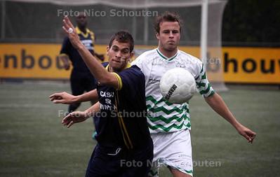 oefenwedstrijd Haaglandia-Westlands Elftal - RIJSWIJK 25 JULI 2011 - FOTO NICO SCHOUTEN