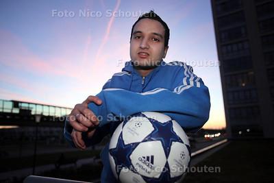 zaalvoetballer Morad Chalhi van de club Sevenstars - 23 MAART 2011 - FOTO NICO SCHOUTEN