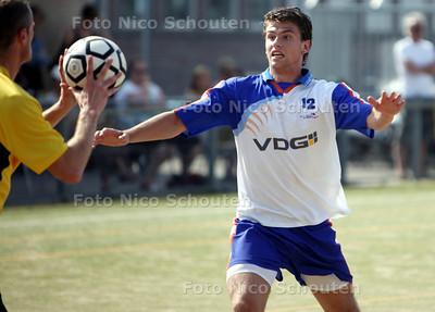Korfbal: Die Haghe-De Meervogels; Meervogels-speler jaimy Roos - DEN HAAG 7 MEI 2011 - FOTO NICO SCHOUTEN