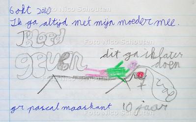 Sanquin bloedbank - bij verhaal bloeddonoren - ZOETERMEER 14 JULI 2011