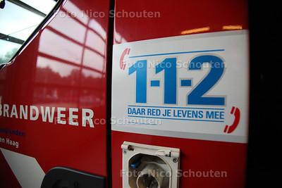 112 Brandweer Haaglanden - DEN HAAG 12 SEPTEMBER 2011 - FOTO NICO SCHOUTEN