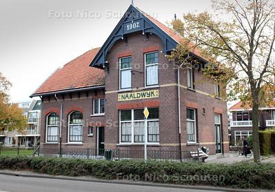 Oud tramhuisje aan de Verspijklaan waar een islamitisch gebedsruimte is - NAALDWIJK 15 SEPTEMBER 2011 - FOTO NICO SCHOUTEN