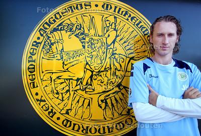 Jeroeen Hoefnagel, de nieuwe trainer van Graaf Willem II VAC - WASSENAAR 10 AUGUSTUS 2012 - FOTO NICO SCHOUTEN