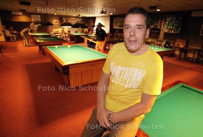 Ferry van der Veen, voorzitter biljarten - DEN HAAG 13 AUGUSTUS 2012 - FOTO NICO SCHOUTEN