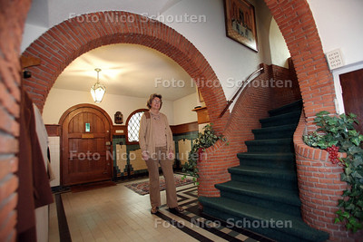 De villa van Mevrouw Lejeune - WASSENAAR 19 DECEMBER 2012 - FOTO NICO SCHOUTEN