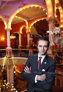 Hotelmanager Pierre-Henri Bovsovers neemt na vijf jaar afscheid van Des Indes en Den Haag - DEN HAAG 11 DECEMEBR 2012 - FOTO NICO SCHOUTEN