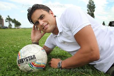 Voetballer Robin Janmaat. hij is oud-prof en gaat nu spelen voor RKAVV - DEN HAAG 4 JULI 2012 - FOTO NICO SCHOUTEN