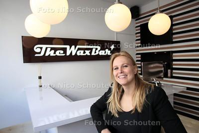 Sophie van den Haak, oprichter van The Wax Bar in haar derde Wax Bar - DEN HAAG 23 MAART 2012 - FOTO NICO SCHOUTEN