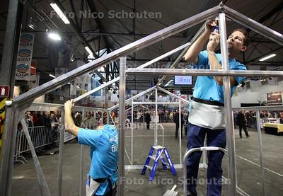 Wk KassieBouwen in hal ABC Westland - POELDIJK 10 NOVEMBER 2012 - FOTO NICO SCHOUTEN