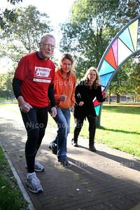 Patiënten van Parnassia gaan meedoen aan de Laan van Meerdervoortloop - DEN HAAG 31 OKTOBER 2012 - FOTO NICO SCHOUTEN