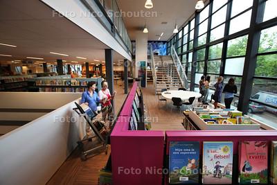 Nieuwe bibliotheek Leidschendam - LEIDSCHENDAM 15 AUGUSTUS 2013 - FOTO NICO SCHOUTEN