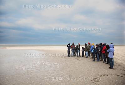 Excursie blauwbekken op de Zandmotor 2