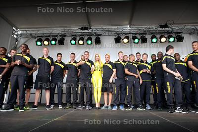 Open dag bij ADO - Presentatie van de spelers - DEN HAAG 13 JULI 2013 - FOTO NICO SCHOUTEN