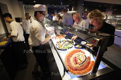 Nieuw restaurant ETEN EN ZO geopend - ZOETERMEER 12 JULI 2013 - FOTO NICO SCHOUTEN
