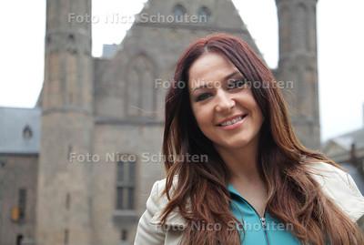Monika Stepien - Salemink komt uit Den Haag en organiseert de Miss Poland verkiezing - DEN HAAG 26 JUNI 2013 - FOTO NICO SCHOUTEN