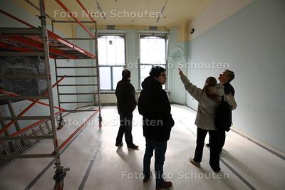 OPEN HUIS VOORMALIG POLITIEBUREAU DUINSTRAAT IVM KLUSWONINGEN - DEN HAAG 23 MAART 2013 - FOTO NICO SCHOUTEN