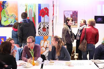 Opening HYPO Kunstsuper op de Voorstraat - DELFT 16 MAART 2013 - FOTO NICO SCHOUTEN
