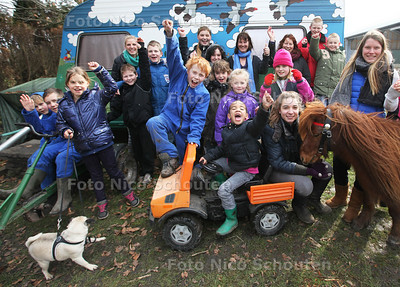 Zorgboerderij heeft als 1 van de drie winnaars een Kroonappel gewonnen - ZOETERMEER 20 MAART 2013 - FOTO NICO SCHOUTEN