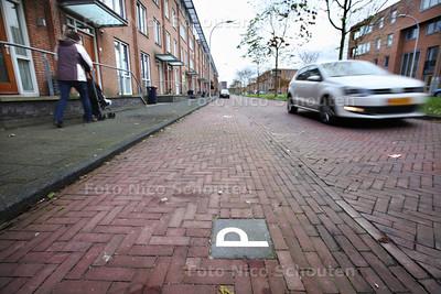 Weidevogellaan - Verhaal over plan van PvdA Den Haag die van plan is om heel de stad betaald parkeren in te voeren. Dus ook in de Vinexwijken Ypenburg en Leidschenveen. Terwijl hier geen parkeerprobleem is volgens de bewoners - DEN HAAG 22 NOVEMBER 2013 - FOTOGRAAF NICO SCHOUTEN