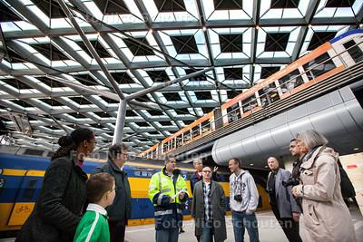Den Haag Centraal Station vernieuwd - Open dag - DEN HAAG 26 OKTOBER 2013 - FOTOGRAAF NICO SCHOUTEN