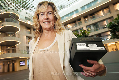Marjolein Wester - Aegon komt met pensioenspreekuur, omdat mensen een veel te rooskleurig beeld van hun pensioen hebben - DEN HAAG 23 SEPTEMBER 2013 - FOTOGRAAF NICO SCHOUTEN