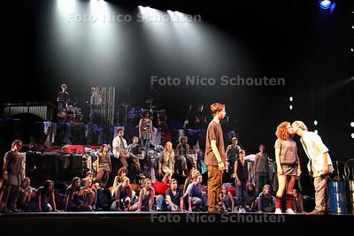 Generale repetitie Peace of Me in de Koninklijke Schouwburg - DEN HAAG 10 SEPTEMBER 2013 - FOTO NICO SCHOUTEN