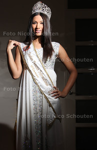 Nadine Makhanlal, Miss Indian Princess International - ZOETERMEER 25 FEBRUARI 2014 - FOTGRAFIE NICO SCHOUTEN