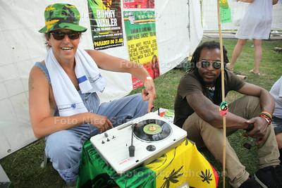 Rastaplas aan het Noord Aa -  Bunny Wailer - ZOETERMEER 20 JULI 2014 - FOTOGRAFIE NICO SCHOUTEN
