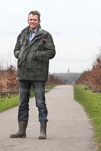 Arjen Siebel met het Balijbos achter hem. Omdat ze 0 euro van het rijk krijgen moeten ze nu zelf op zoek naar recreatieve sponsoring - ZOETERMEER 17 MAART 2014 - FOTOGRAFIE NICO SCHOUTEN