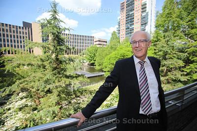 Abraham de Kruijf, lijsttrekker van Aandacht en Eenvoud voor de Europese Verkiezingen - ZOETERMEER 20 MEI 2014 - FOTOGRAFIE NICO SCHOUTEN