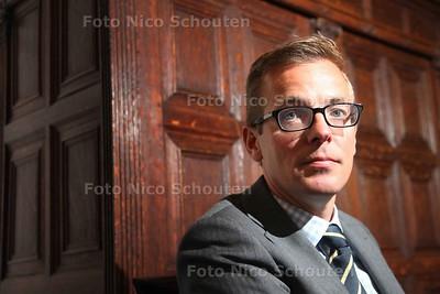 Sanne ten Bokkel Huinink, rentmeester Stichting Boschuysen bestaat 450 jaar en houdt zich bezig met de opvang van 'jeugdige personen' die 'maatschappelijk gezien hulp van derden nodig hebben' - DEN HAAG 7 MEI 2014 - FOTOGRAFIE NICO SCHOUTEN