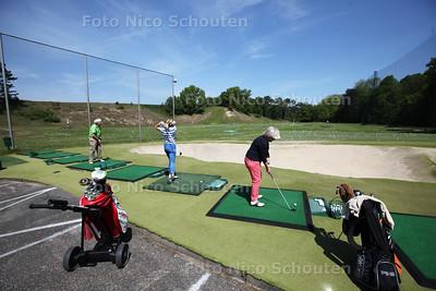 Sfeerbeeld Wassenaar, Koninklijke Haagsche Golf & Country Club; bij verhaal over 'links' stadsbestuur' - WASSENAAR 17 MEI 2014 - FOTOGRAFIE NICO SCHOUTEN