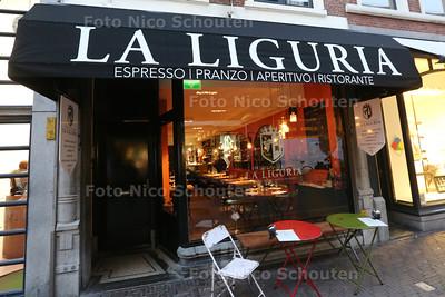 Italiaanse restaurant La Liguria voor de Gouden pollepel - DEN HAAG 26 NOVEMBER 2014 - FOTOGRAFIE NICO SCHOUTEN