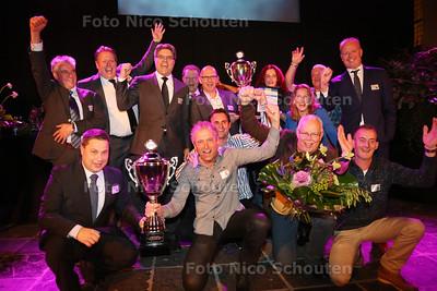 Uitreiking MKB Westland Ondernemersprijs - NAALDWIJK 27 NOVEMBER 2014 - FOTOGRAFIE NICO SCHOUTEN