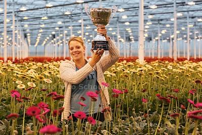 Joyce Hoogland is de meest inspirerende tuinbouwvrouw van Nederland - PIJNACKER 29 OKTOBER 2014 - FOTOGRAFIE NICO SCHOUTEN