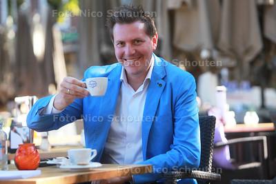 Frank Heijneman gaat als ondernemer uit het Westland een horecaprogramma bij SBS 6 presenteren. De gast is koning - DEN HAAG 8 SEPTEMBER 2014 - FOTOGRAFIE NICO SCHOUTEN
