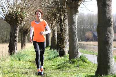 Haagse Runningtherapeut Gerda Kloet - DELFT 2 APRIL 2015 - FOTO NICO SCHOUTEN
