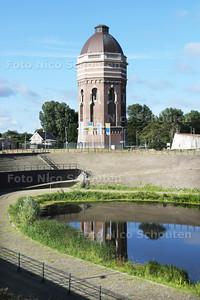Rondleiding Dunea drinkwaterwingebied in de duinen - De watertoren - DEN HAAG 23 JULI 2015 - FOTO NICO SCHOUTEN