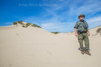 Rondleiding Dunea drinkwaterwingebied in de duinen - Martin in de duinen - DEN HAAG 23 JULI 2015 - FOTO NICO SCHOUTEN