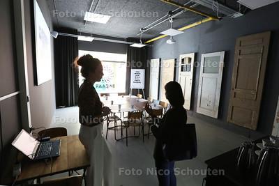 Voormalig winkelcentrum De Bazaar wordt heropend en is nu een 'ontmoetingsplek voor de nieuwe generatie - DEN HAAG 29 JUNI 2015 - FOTO NICO SCHOUTEN