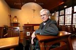 Pater Zwaard viert 50 jarig jubileum priesterschap - DEN HAAG 18 MAART 2015 - FOTO NICO SCHOUTEN
