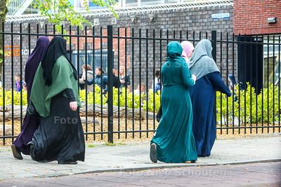 Moslimvrouwen in Transvaal - DEN HAAG 22 MEI 2015 - FOTO NICO SCHOUTEN