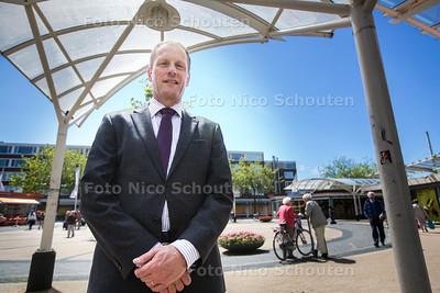 Centrum manager voor winkelcentra voorburg gaat de winkelcentra een nieuw 'smoel' geven in hun concurrentie met leidsenhage - VOORBURG 26 MEI 2015 - FOTO NICO SCHOUTEN