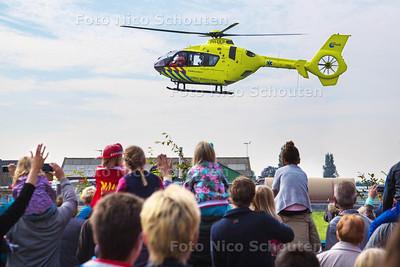 112 dag - Traumahelicopter - PIJNACKER 3 OKTOBER 2015 - FOTO NICO SCHOUTEN