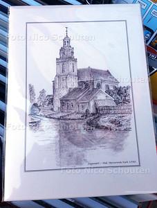 Zoetermeer ansichtkaart bij Bruna - ZOETERMEER 30 SEPTEMBER 2015 - FOTO NICO SCHOUTEN