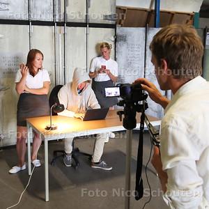 Theatervoorstelling over cyberpesten - ZOETERMEER 1 AUGUSTUS 2016 - FOTO NICO SCHOUTEN