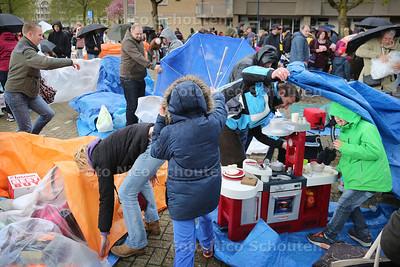 Vrijmarkt Koningsdag - ZOETERMEER 27 APRIL 2016 - FOTO NICO SCHOUTEN